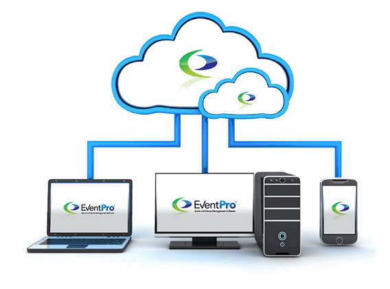 EventPro Software can be deployed on your local desktop, your network, or on the cloud.