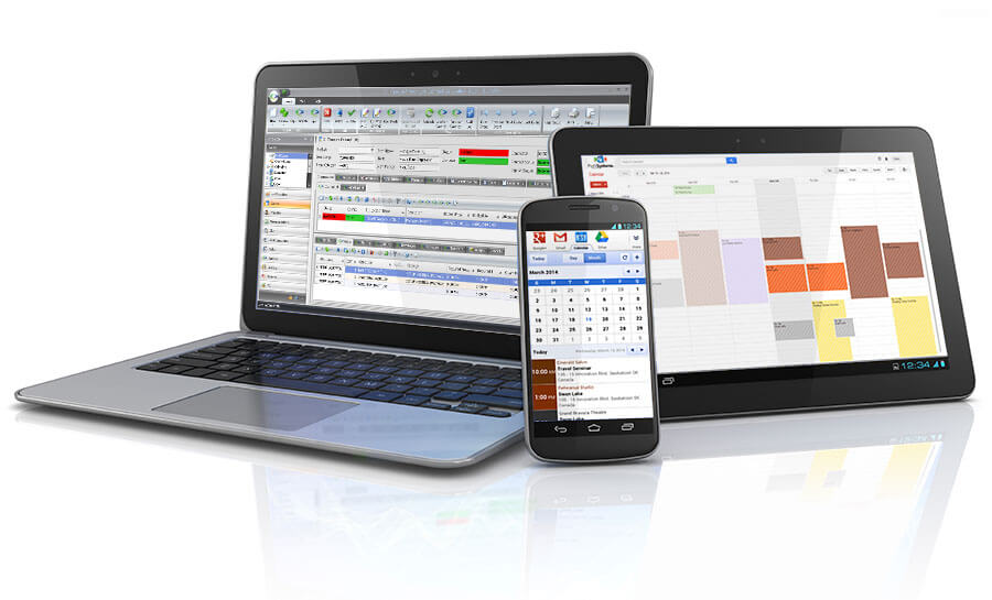 EventPro on your computer, tablet or smartphone